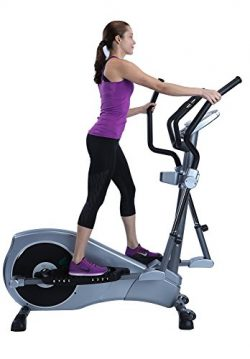 "V-450 Standard Stride 17"" Elliptical Exercise Cross Trainer Machine with Adjustable Arms and Ped ..."