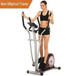 Elliptical Exercise Machine Eliptical Trainer Machine for Home Use Magnetic Smooth Quiet Driven  ...