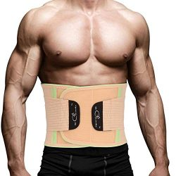 SZ-Climax Waist Back Braces Supports Belt, Adjustable Lumbar Supports, Lumbar Protector, Abdomin ...
