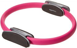 AmazonBasics Pilates Fitness Resistance Training Ring – 14-Inch, Pink