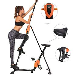 Hurbo Elliptical Exercise Machine, Top Levels Elliptical Machine Fitness Workout Cardio, Magneti ...
