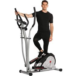 Jaketen Elliptical Exercise Machine Magnetic Smooth Quiet Driven Eliptical Trainer Machine for H ...
