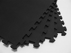 We Sell Mats 24 Tiles Borders Anti-Fatigue Interlocking EVA Foam Exercise, 2′ x 3/8″ ...