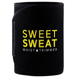Sports Research Sweet Sweat Premium Waist Trimmer, for Men & Women ~ Includes Free Breathabl ...