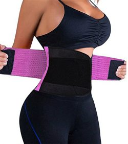 KOOCHY Women's Waist Trainer Belt – Waist Cincher Trimmer – Slimming Body Shap ...