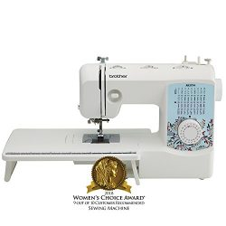 Brother XR3774 Full-Featured Quilting Machine with 37 Stitches, 8 Sewing Feet, Wide Table, and I ...