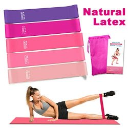 Rantizon Resistance Bands Resistance Bands for Legs and Butt Exercise Bands, Home Fitness, Cross ...