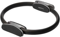 AmazonBasics Pilates Fitness Resistance Training Ring – 14-Inch, Black