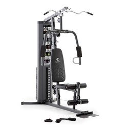 Marcy150lb. Stack Home Gym with Pulley, Arm, and Leg Developer Multifunctional Workout Station f ...