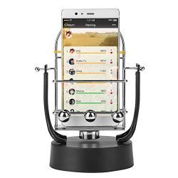 Phone Swing Device, Automatic Shake Wiggle Electronic Perpetual Motion Machine Rotary Swing Bala ...