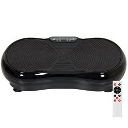 Best Choice Products Full Body Vibration Platform w/Remote Control and Resistance Bands –  ...