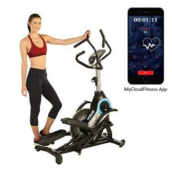 ProGear 9900 HIIT Bluetooth Smart Cloud Fitness Crossover Stepper/Elliptical Trainer with Goal S ...
