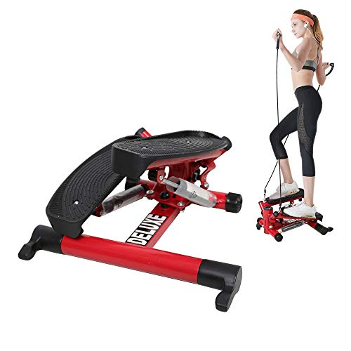Livebest Mini Air Stepper Climber Step Machine Cardio Training Fitness Exercise Equipment with A ...