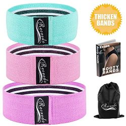 Recredo Booty bands, Non Slip Resistance Bands for Legs and Butt, Workout Bands Exercise Bands H ...