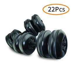 Adjustable Dumbbells Set Water Bottle Fitness Gifts for Men & Woman Travel Dumbbells – ...