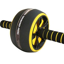 SNODE Ab Roller Wheel for Abdominal Exercise, Core Muscle Ab Trainer, Exercise and Fitness Wheel ...
