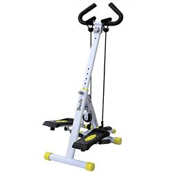 Doufit Stepper for Exercise, ST-01 Folding Step Workout Machine for Home with Digital Monitor, H ...