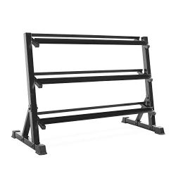 CAP Barbell 3 Tier Dumbbell Rack, 51″