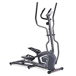 MaxKare Elliptical Trainers Exercise Bike Portable Upright Fitness Workout Bike Machine, 8-Level ...