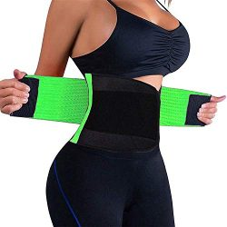 Waist Trainer Women – Waist Cincher Trimmer – Slimming Body Shaper Belt – Spor ...