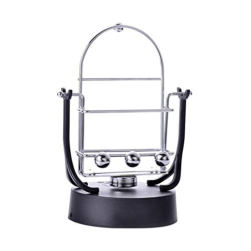 Fovolat Electronic Perpetual Motion Machine Newtons Cradle – Swinging Sticks – Pendu ...
