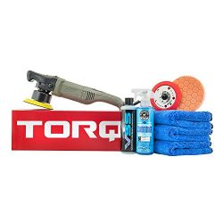 Chemical Guys BUF613 TORQ10FX Random Orbital Polisher One-Step Scratch and Swirl Remover Kit (8  ...