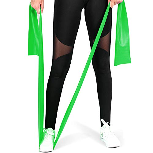 MOKOSS Exercise Band Long Resistance Bands Professional Latex Free Elastic Bands, Perfect for St ...