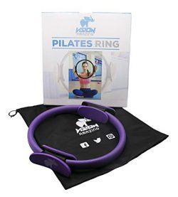Vision Amazing Pilates Ring – Made of Fiberglass, Rubber and Foam – Helps to Strengt ...