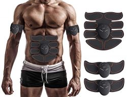 MuscleT Abs Stimulator Muscle Toner Trainer EMS Abdominal Trainer Ultimate Ab Stimulator for Abd ...
