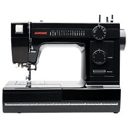 Janome Industrial-Grade Aluminum-Body HD1000 Black Edition Sewing Machine with 14 Stitches, 4-St ...