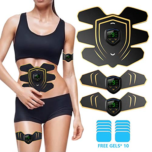 ABS Stimulator Abdominal Trainer Ultimate Abs Stimulator Ab Stimulator Men Women Work Out Ads Po ...