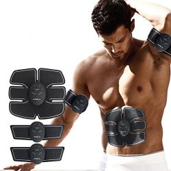 Mybesty Abdominal Muscle Trainer EMS Remote Control Smart Body Building Fitness Abs USA