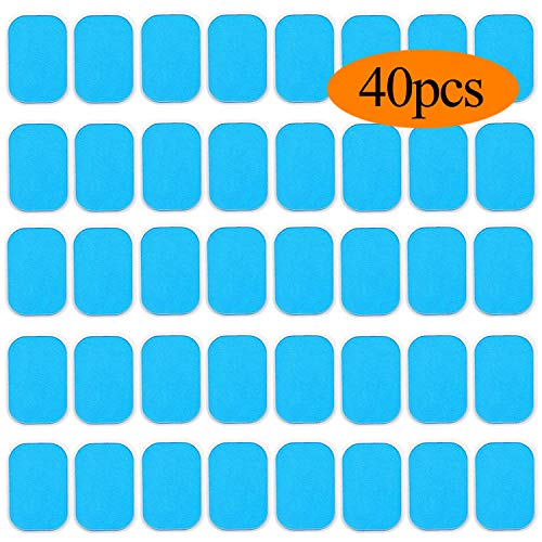 Abs Stimulator Gel Pads Replacement Gel Sheet for EMS Muscle Trainer Abs Muscle Toning Belt, Acc ...