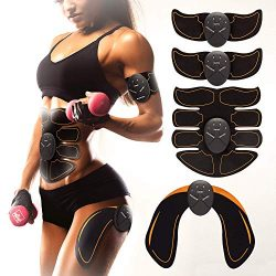 Bon-Su Muscle Toner – Abdominal Toning Belt Fit for Body Arm – Abs Trainer Muscle To ...