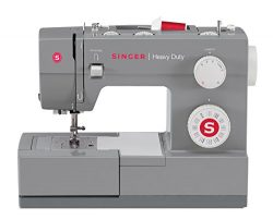 SINGER | Heavy Duty 4432 Sewing Machine with 32 Built-in Stitches, Automatic Needle Threader, Me ...