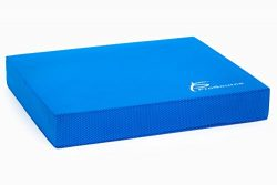 ProsourceFit Exercise Balance Pad – Non-Slip Cushioned Foam Mat & Knee Pad for Fitness ...