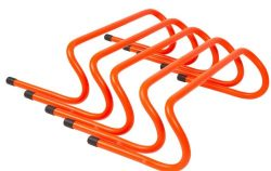 Trademark Innovations Speed Training Hurdles (Pack of 5), 6″
