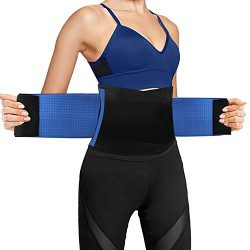 Ufanore Waist Trainer for Men & Women, Breathable Abdominal Waist Trimmer, Stomach and Low B ...