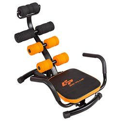 GOPLUS Core & Abdominal Trainers, Twister Trainer Ab Exercise Machine Height Adjustable Incl ...
