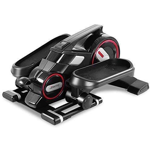 JOROTO Desk Elliptical Mini Stepper – Under Desk Elliptical Steppers for Exercise Desk Ped ...