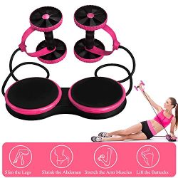 Darhoo Ab Roller Wheel – Ab Wheel Exercise Fitness Equipment – New Upgrade 5-in-1 Mu ...