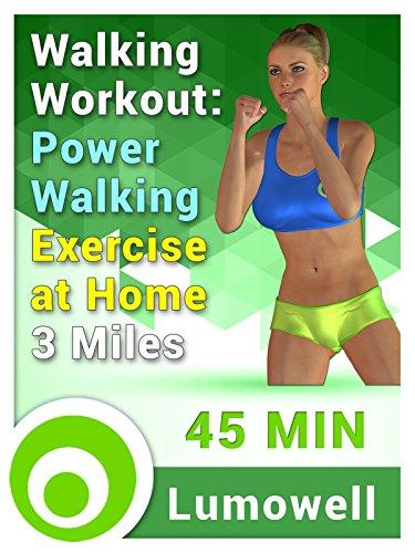 Walking Workout: Power Walking Exercise at Home – 3 Miles