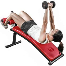 Durable Sit-ups Adjustable Abdominal Muscle Training Board Gym Home Strength Fitness Equipment A ...