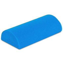ProsourceFit Flex Foam Half-Round Rollers 12″ for Muscle Massage, Physical Therapy, Core & ...