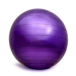Yoga Fitness Ball Explosion-Proof Ball 55cm 65cm 75cm Yoga Ball Fitness Ball Home Gym Office for ...