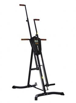 Sportsroyals Vertical Climber, Folded Climbing Cardio Exercise Equipment Full Body Workout for W ...