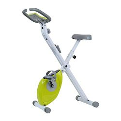 Durable Foldable Training Spinning Bike and Elliptical Cross Trainer with Fitness Cardio Weightl ...