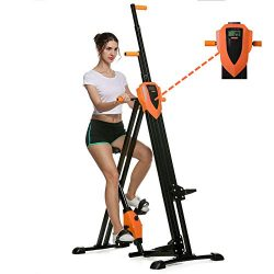 Flyerstoy Vertical Climber Cardio Exercise – Folding Exercise Climbing Machine,Total Body  ...