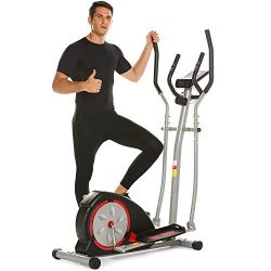 Elliptical Exercise Machine Magnetic Smooth Quiet Driven Eliptical Trainer Machine for Home Use  ...