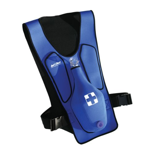 Act Fast AF-101-B Anti Choking Trainer without Back Slap, Blue